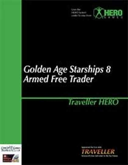 Role Playing Games - Traveller Hero - Golden Age Starships 8 Armed Free Trader