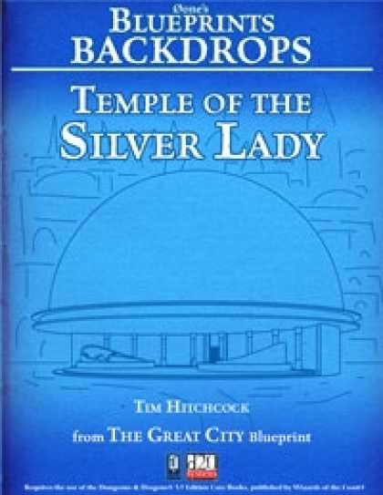 Role Playing Games - 0one's Blueprints Backdrops: Temple of the Silver Lady