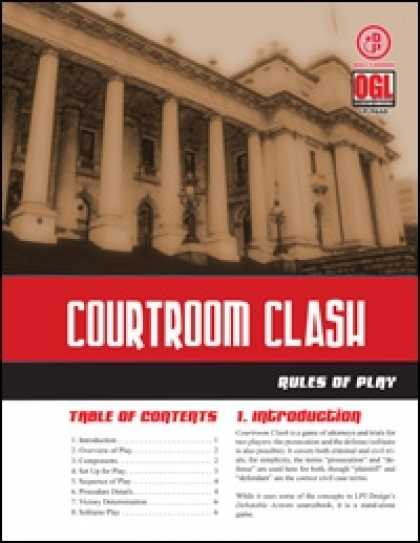 Role Playing Games - Courtroom Clash