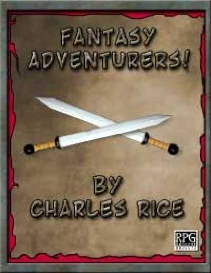 Role Playing Games - Fantasy Adventurers