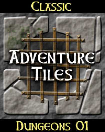 Role Playing Games - Classic Adventure Tiles: Dungeons 01