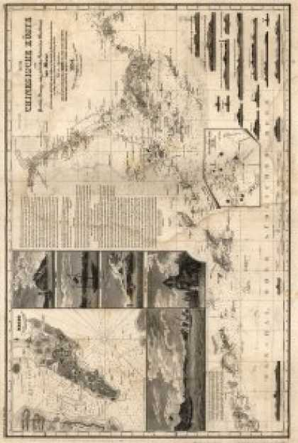 Role Playing Games - Antique Maps XXIIV - Hong Kong of the 1800's
