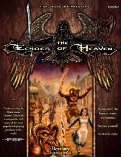 Role Playing Games - The Echoes of Heaven Bestiary/The Tainted Tears (OGL Version)