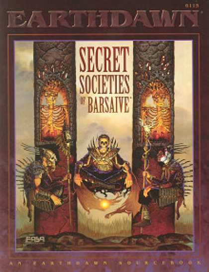 Role Playing Games - Secret Societies of Barsaive