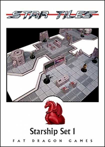 Role Playing Games - STAR TILES: Starship Set 1
