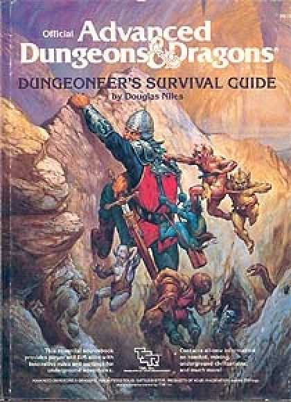 Role Playing Games - Dungeoneer's Survival Guide