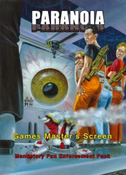 Role Playing Games - Paranoia Games Master's Screen