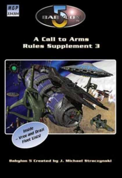 Role Playing Games - A Call to Arms Rules Supplement 3