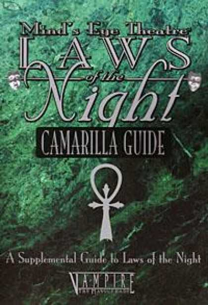 Role Playing Games - Laws of the Night: Camarilla Guide