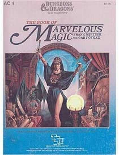 Role Playing Games - The Book of Marvelous Magic