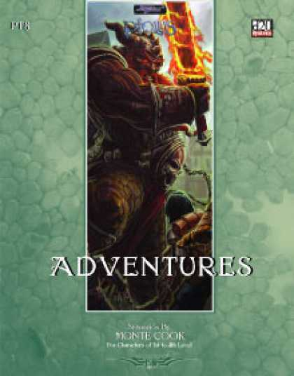 Role Playing Games - Ptolus: Adventures