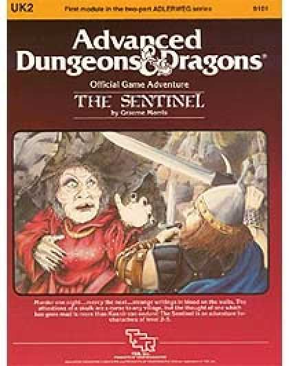 Role Playing Games - UK2 - The Sentinel