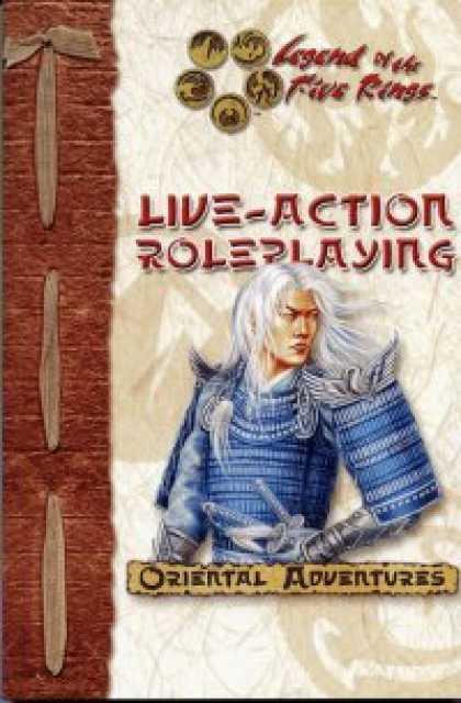 Role Playing Games - Legend Of The Five Rings Live Action Role-Playing Game