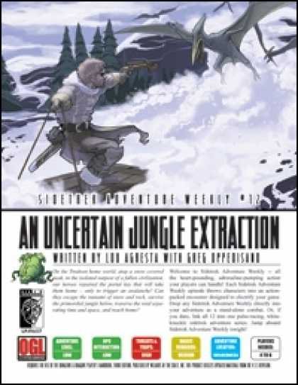Role Playing Games - Sidetrek Adventure Weekly #12: An Uncertain Jungle Extraction