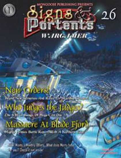 Role Playing Games - Signs & Portents Wargamer 26