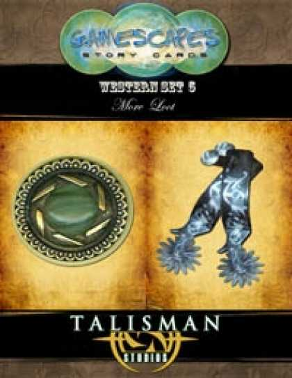 Role Playing Games - Gamescapes: Story Cards, Western Set 5