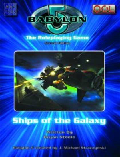 Role Playing Games - Ships of the Galaxy