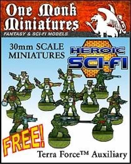 Role Playing Games - Terra Force Auxiliary