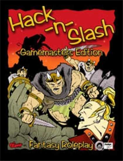 Role Playing Games - Hack-n-Slash: Fantasy Roleplay - Gamemasters Edition