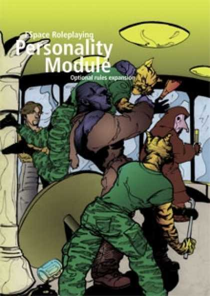 Role Playing Games - FSpaceRPG Personality Module rules expansion v1.1