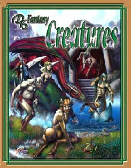 Role Playing Games - D6 Fantasy Creatures