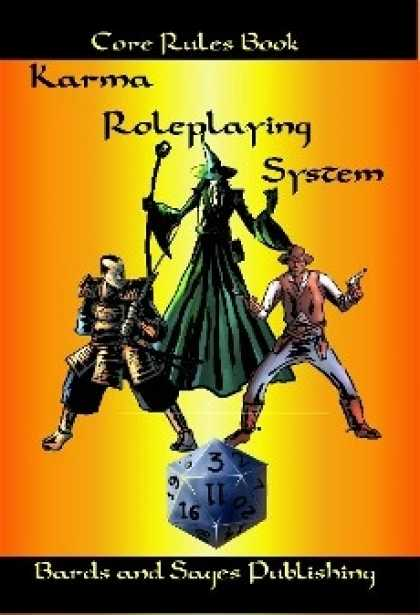 Role Playing Games - Karma Roleplaying System Core Rules Book