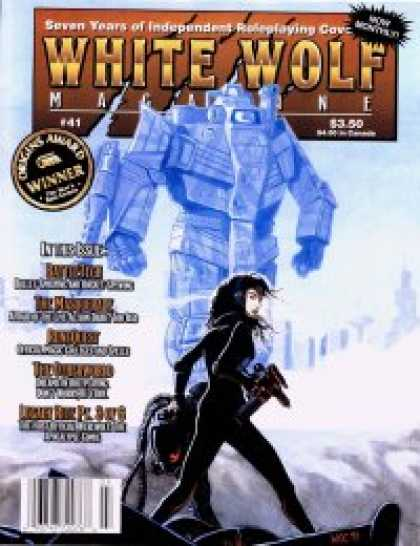 Role Playing Games - White Wolf Magazine #41