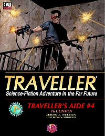 Role Playing Games - Traveller's Aide #4 - 76 Gunmen