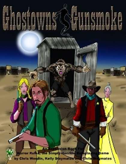Role Playing Games - Ghostowns & Gunsmoke