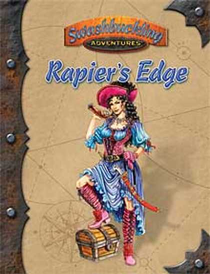 Role Playing Games - Rapier's Edge: Adventures in Théah