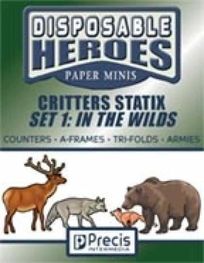 Role Playing Games - Disposable Heroes Critters Statix 1: In the Wilds