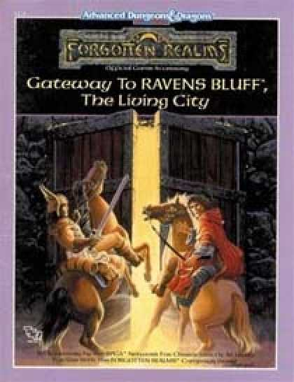 Role Playing Games - Gateway to Ravens Bluff - The Living City