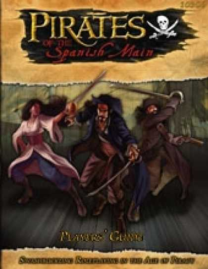 Role Playing Games - Pirates of the Spanish Main Players' Guide