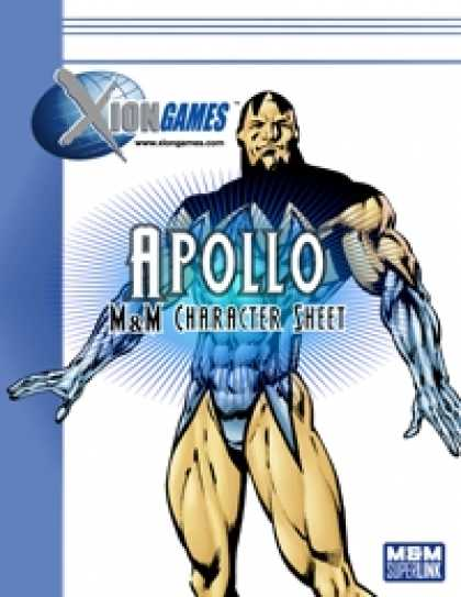 Role Playing Games - Apollo? Character Sheet (M&M Superlink)