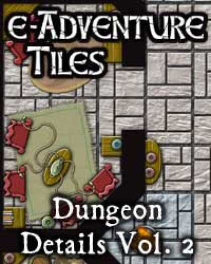 Role Playing Games - e-Adventure Tiles: Dungeon Details Vol. 2