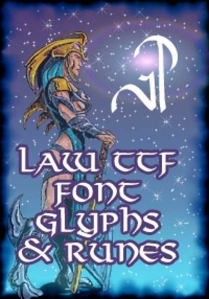 Role Playing Games - AOTA-TTF - Law Glyphs & Runes
