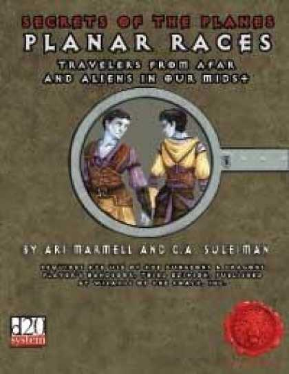 Role Playing Games - Secrets of the Planes: Planar Races