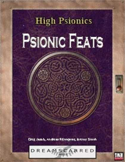 Role Playing Games - High Psionics: Psionic Feats