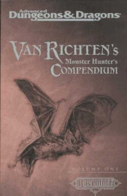 Role Playing Games - Van Richten's Monster Hunter's Compendium, Vol 1