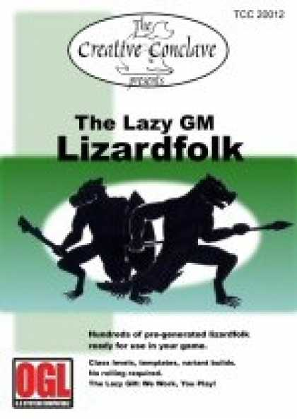 Role Playing Games - The Lazy GM: Lizardfolk