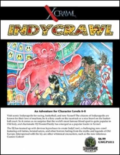 Role Playing Games - Xcrawl: IndyCrawl