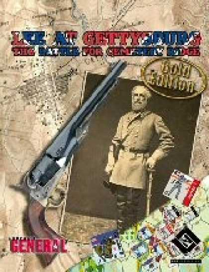 Role Playing Games - Lee at Gettysburg: The Battle for Cemetery Ridge -Gold Edition