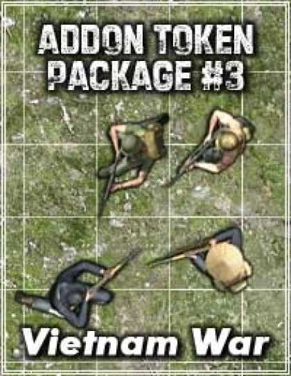 Role Playing Games - Addon Token Package #3: Vietnam War
