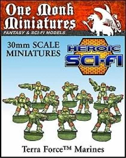 Role Playing Games - Heroic Sci-Fi Terra Force Marines