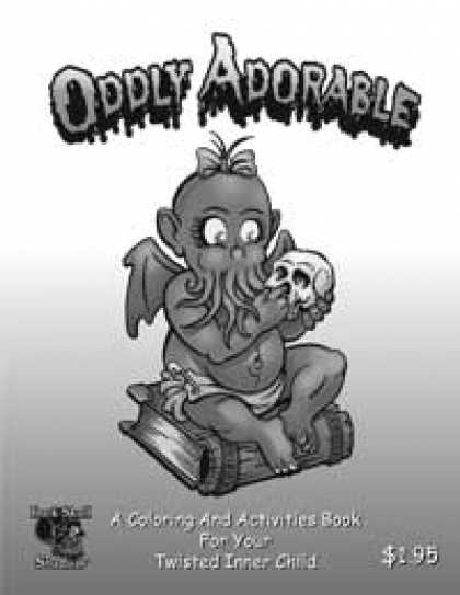 Role Playing Games - Oddly Adorable Coloring Book