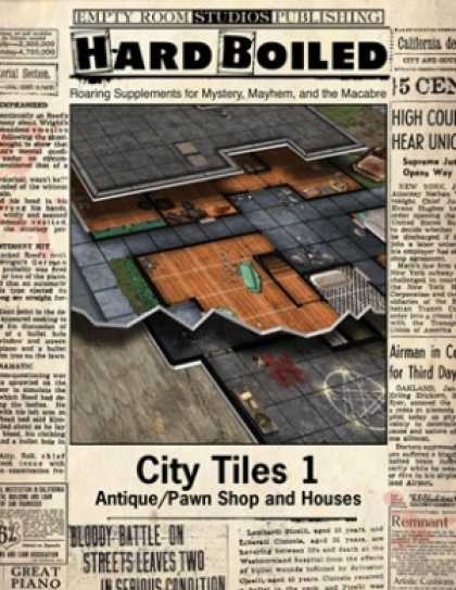 Role Playing Games - Hard Boiled -City Tiles 1