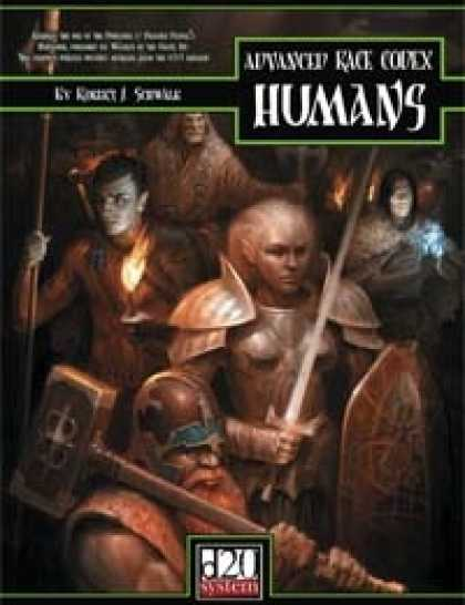 Role Playing Games - Advanced Race Codex: Humans