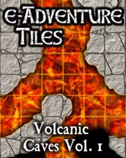 Role Playing Games - e-Adventure Tiles: Volcanic Caves Vol. 1