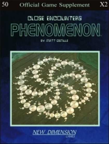 Role Playing Games - Phenomenon: Close Encounters--Supplement X2