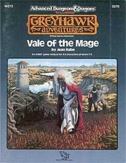 Role Playing Games - WG12 - Vale of the Mage